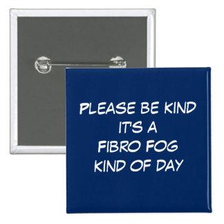 Jour fibro de brouillard badge