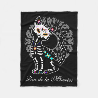 Jour Girly du nom mignon mort de coutume de chat Couverture Polaire