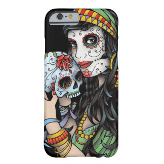Jour gitan de femme des morts coque iPhone 6 barely there