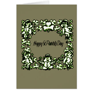 Jour heureux 2 de Patrick s Carte De Vœux