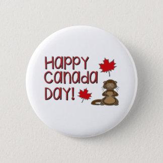Jour heureux 3 du Canada Badge