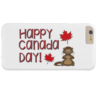 Jour heureux 3 du Canada Coque iPhone 6 Plus Barely There