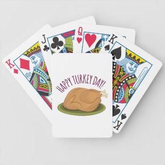 Jour heureux de la Turquie Jeux De Cartes