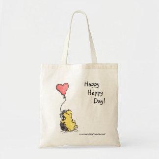 Jour heureux fourre-tout sac en toile budget