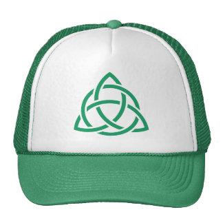 Jour irlandais de Patricks de Celtic de Triquetra Casquette