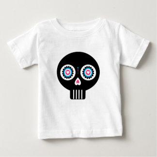 """Jour mexicain du crâne mort de """"Dia de Muertos"""" T-shirt Pour Bébé"""