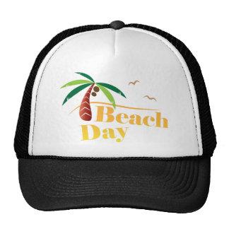 Jour parfait de plage d'été casquettes