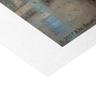 Jour pluvieux à Francfort 2015 Papier Mousseline