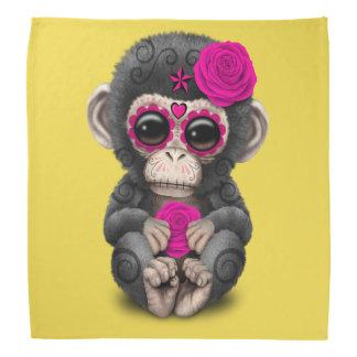 Jour rose du chimpanzé mort bandana