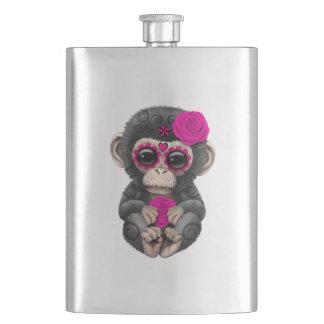 Jour rose du chimpanzé mort flasque