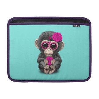 Jour rose du chimpanzé mort poches macbook air