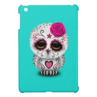 Jour rose du hibou mort de bébé étui iPad mini