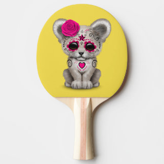 Jour rose du lion CUB mort Raquette Tennis De Table