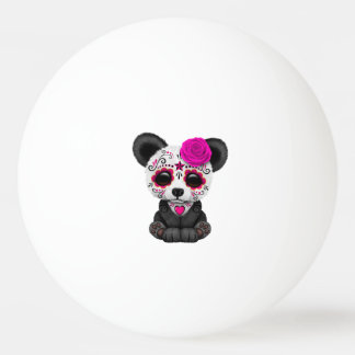 Jour rose du panda mort CUB Balle Tennis De Table