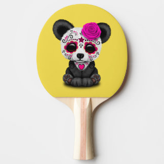 Jour rose du panda mort CUB Raquette Tennis De Table