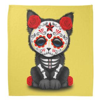 Jour rouge du chaton mort bandanas