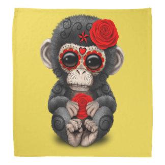 Jour rouge du chimpanzé mort bandanas