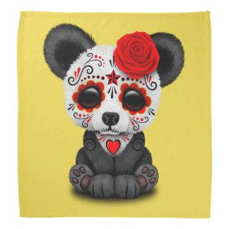 Jour rouge du panda mort bandanas