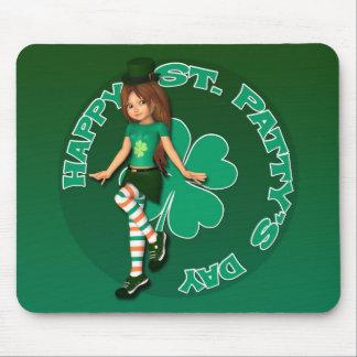 Jour Sadie 16 Mousepad de St Patty Tapis De Souris