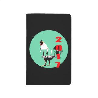 Journal 2017 de calendrier de cercle de vert