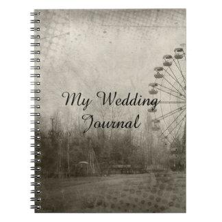 Journal de mariage de casquette supérieur de