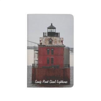 Journal de phare de banc de point de Sandy