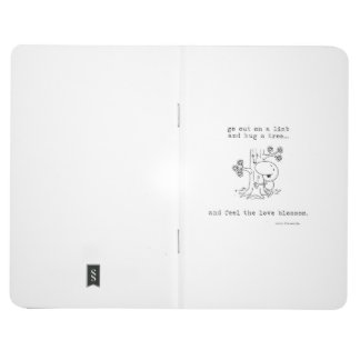 Journal de poche de Hugger d'arbre