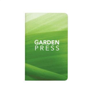 Journal de poche de presse de jardin de GWA