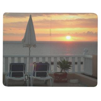 Journal de voyage de coucher du soleil