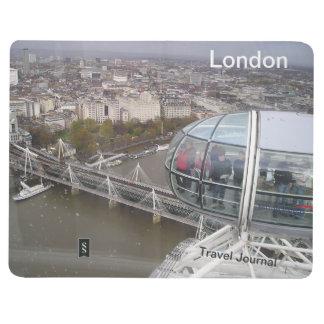 Journal de voyage de destination d'oeil de Londres