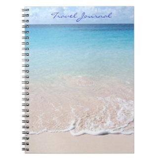 Journal de voyage (plage de coude, couverture des