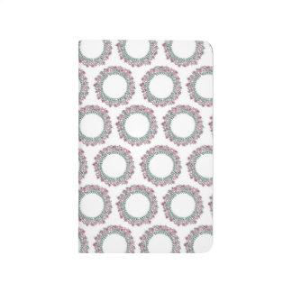 Journal floral de poche de cercle