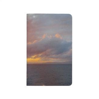 Journal méditerranéen de coucher du soleil