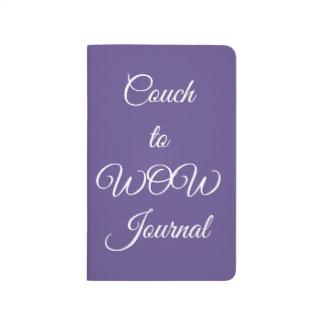 Journal ultra-violet pourpre de planificateur de