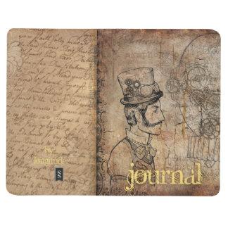 Journal victorien de Steampunk du monsieur