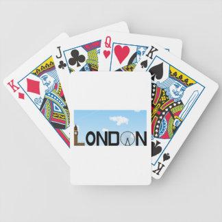 Journée d'horizon de Londres Jeu De Poker