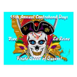 Jours de contrebande de pirate 30 couleurs cartes postales