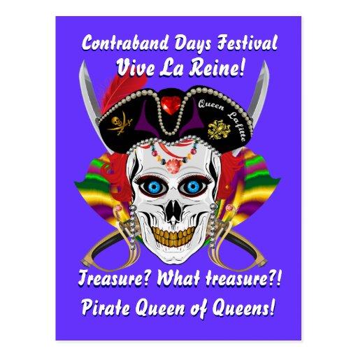 Jours de contrebande de pirate de la Louisiane 30 Carte Postale