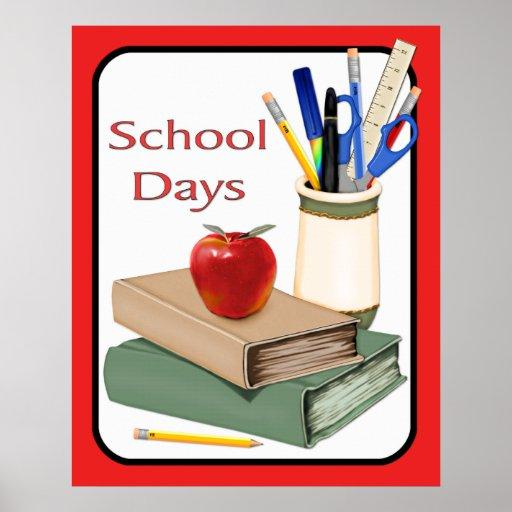 Jours d'école poster