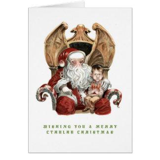 Joyeuse carte de Noël de Cthulhu