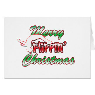 Joyeuse carte de Noël de Flippin