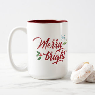 Joyeuse et lumineuse tasse