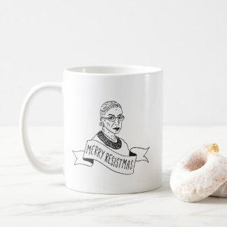 Joyeuse Resistmas tasse de Ruth Bader Ginsburg