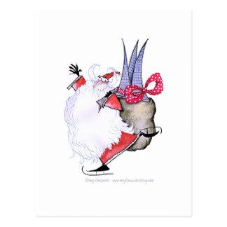 Joyeuses Fêtes de ShardArt par Fernandes élégant Carte Postale