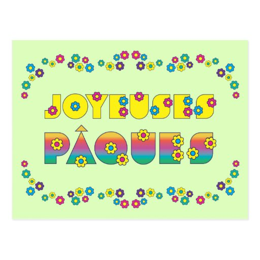 Joyeuses Pâques Cartes Postales
