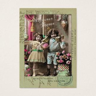 Joyeuses Pâques Pâques Cartes De Visite