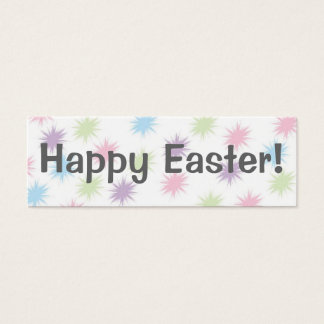 Joyeuses Pâques !   Signet Mini Carte De Visite