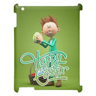 Joyeuses Pâques Toon Coque iPad