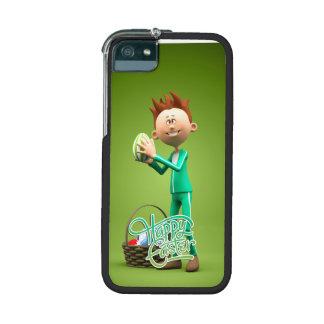 Joyeuses Pâques Toon Étui Pour iPhone 5/5S