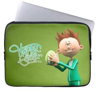 Joyeuses Pâques Toon Housses Pour Ordinateur Portable